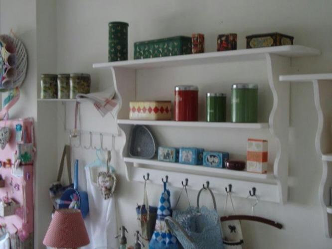 Wandrek Keuken Landelijk : brocante wandrek 14429
